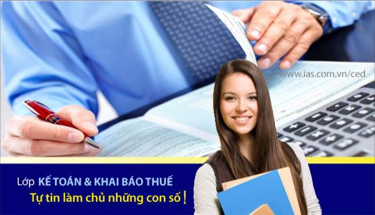 Khoa Hoc Ke Toan Khai Bao Thue